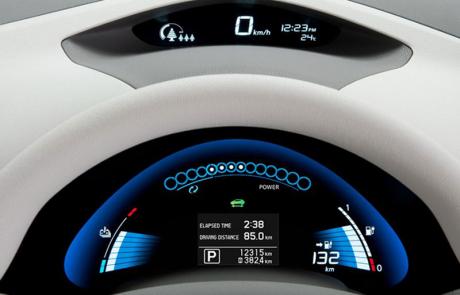 Nissan Leaf Instruments