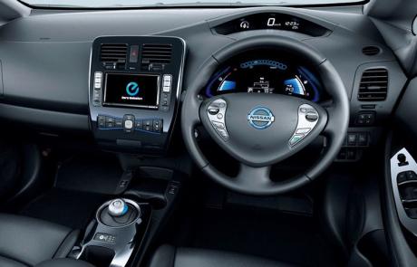 Nissan Leaf Dash