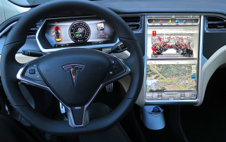 Tesla Model S Console
