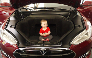 Tesla Model S Front Luggage