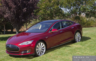 Tesla Model S Signature Red