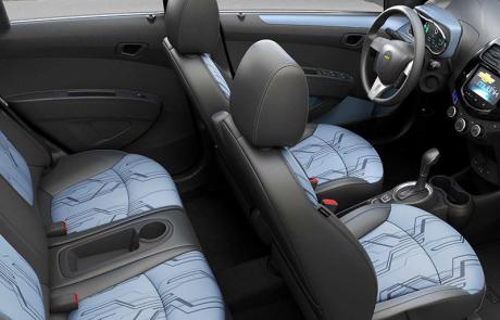 Chevy Spark EV Interior