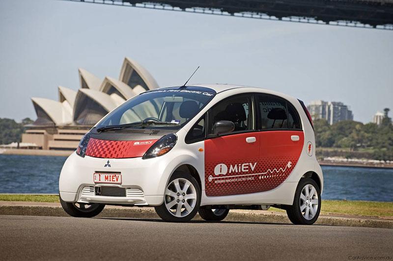mitsubishi miev - my electric car