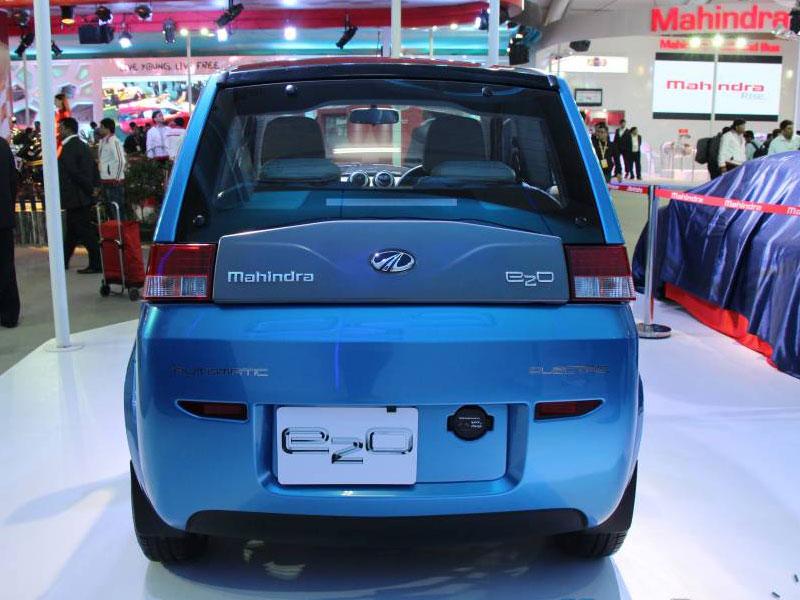 Mahindra E2o My Electric Car