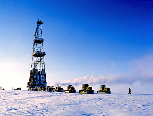 Artic Drilling for Oil