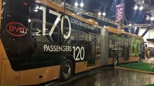 BYD Bendy Bus