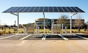 Solar Charge Station
