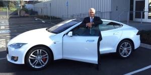 Malcolm Turnbull & Tesla Model S